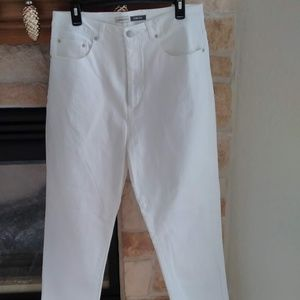 St Johns Bay Stretch white Jeans